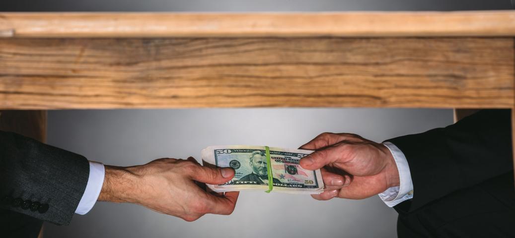 La corrupción está sujeta a la oferta y demanda